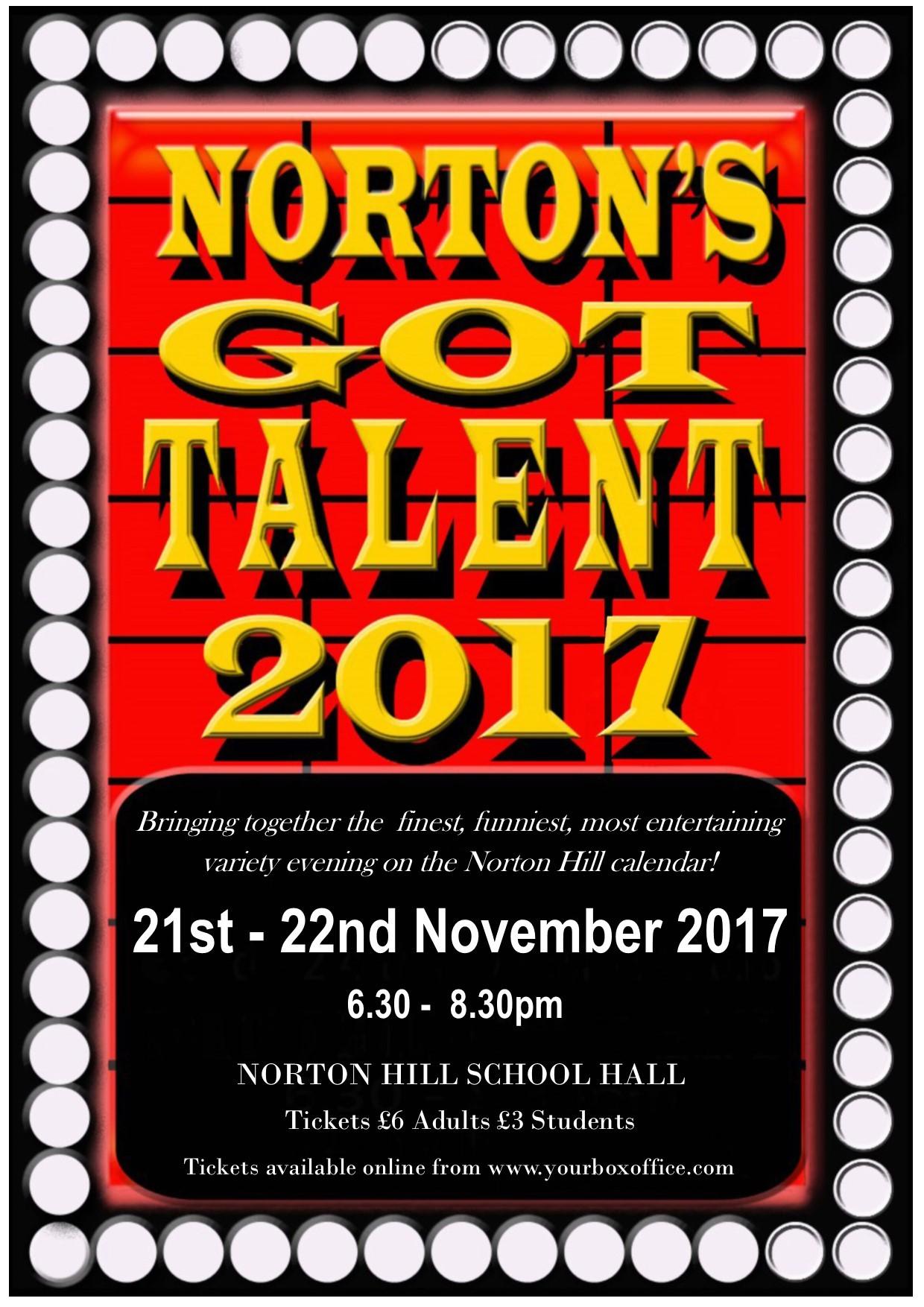 Norton's Got Talent 2017