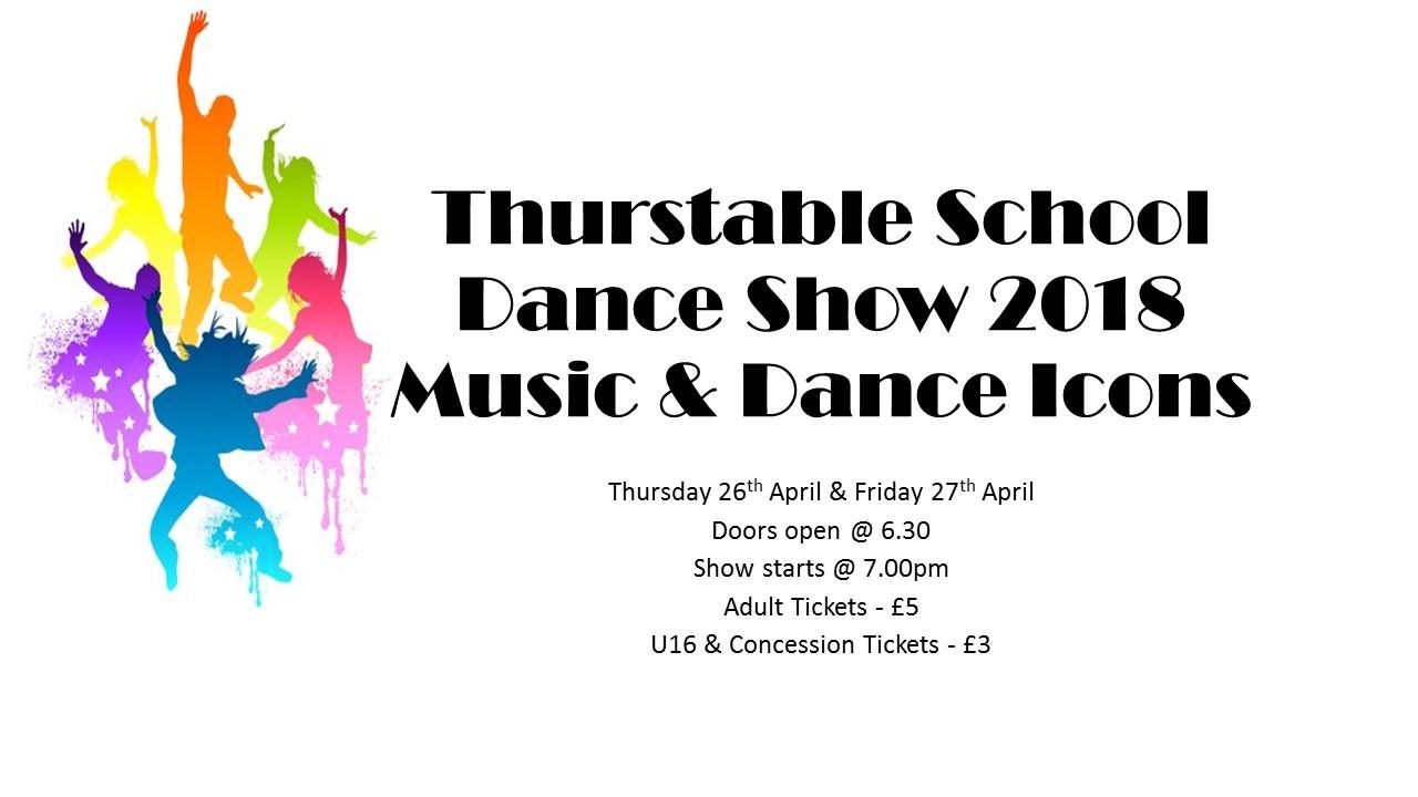 Thurstable School Dance Show