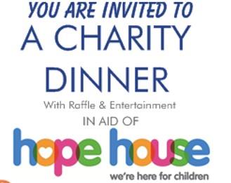 Charity Dinner at Origins for Hope House