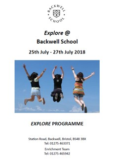 Explore @ Backwell 2018