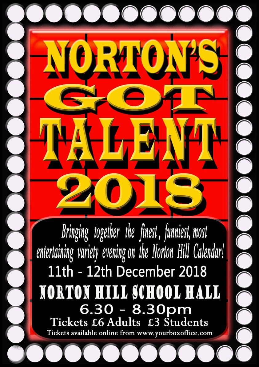 Norton's Got Talent 2018