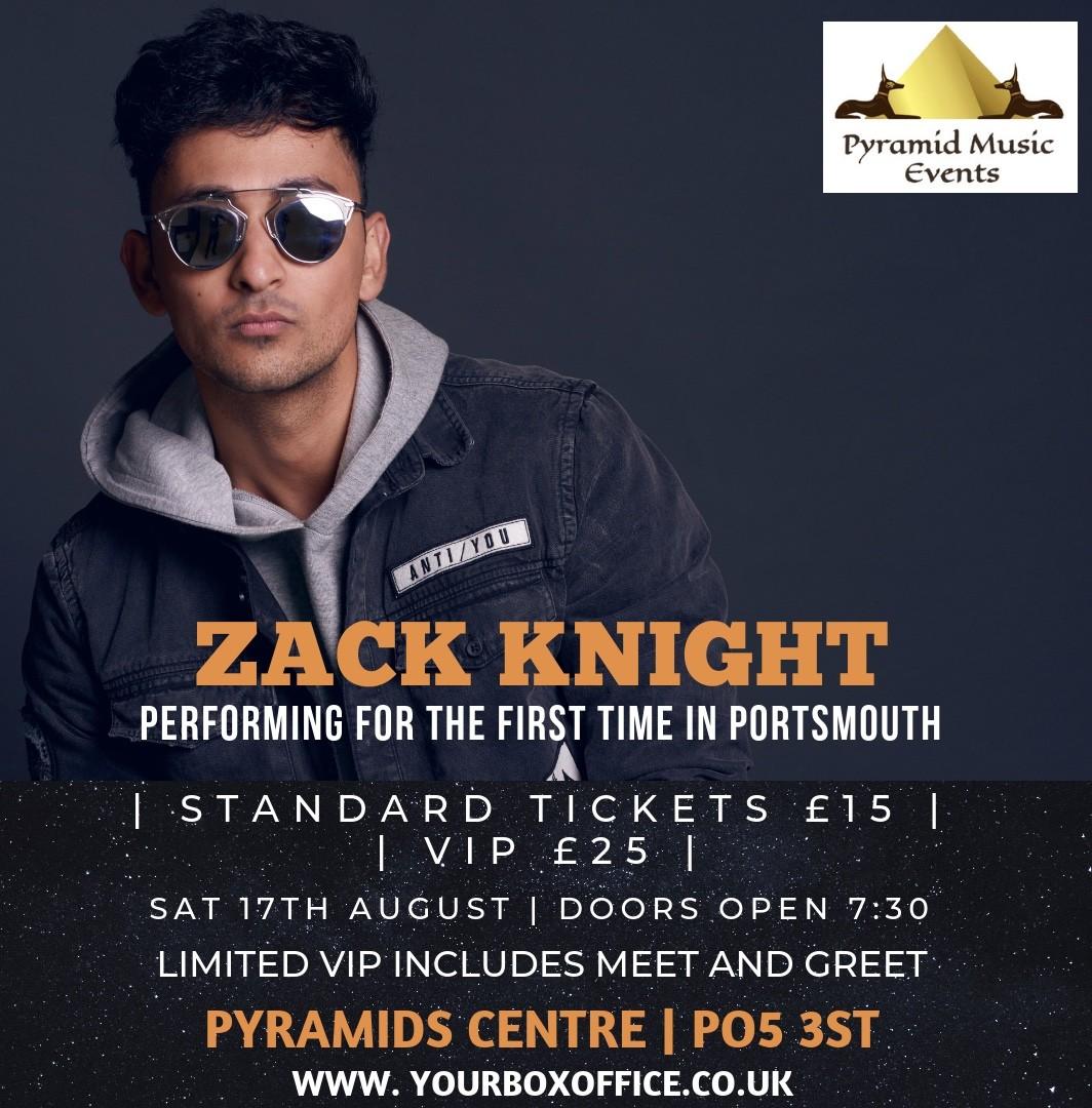 Zack Knight Portsmouth VIP