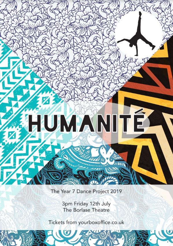 "Borlase Year 7 Dance Performance - ""Humanité"""