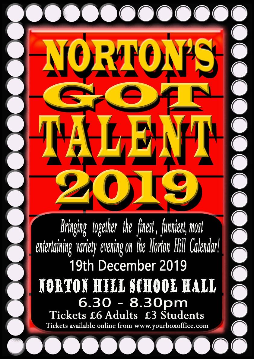 NORTON'S GOT TALENT 2019