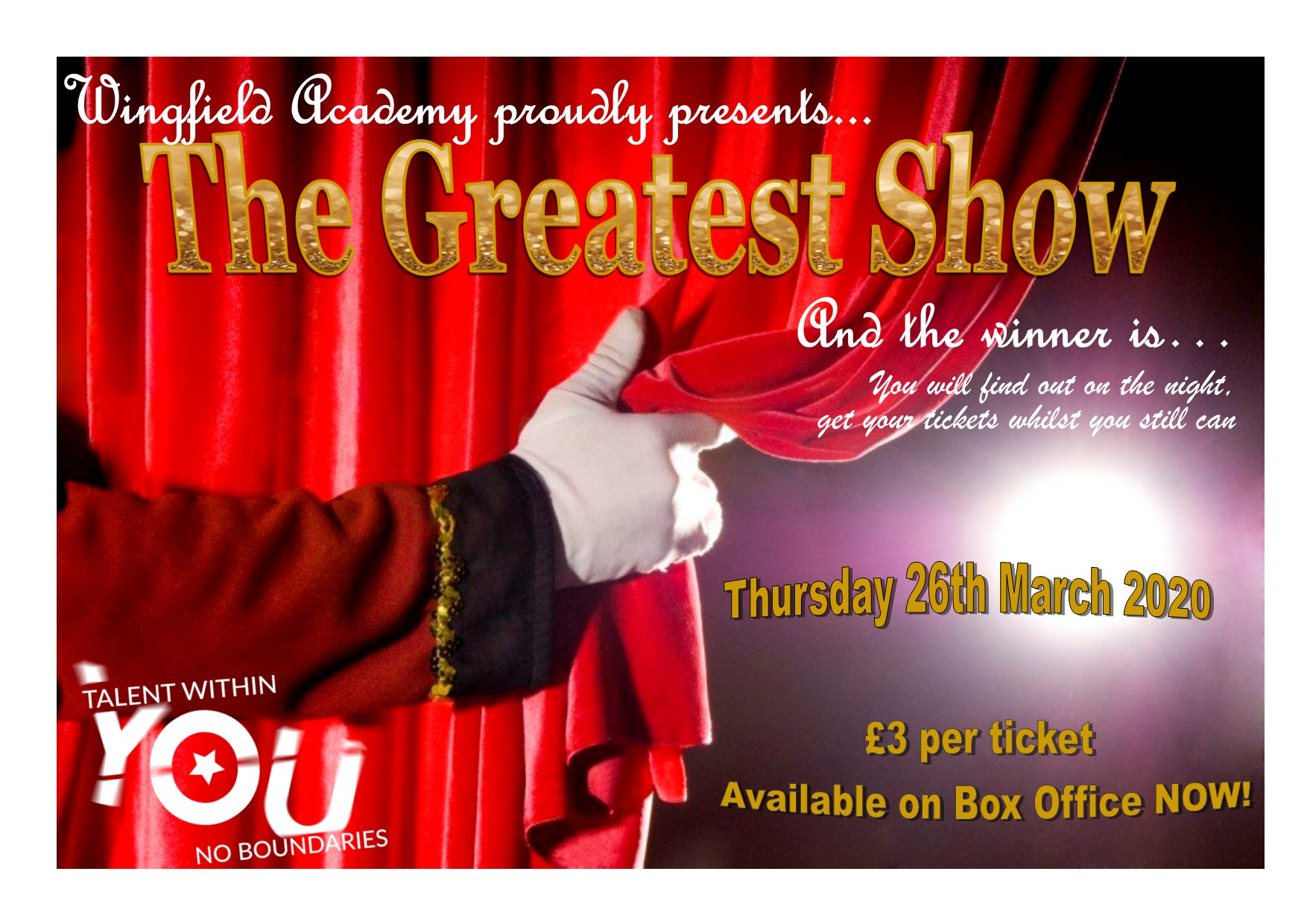 Wingfield Academy-The Greatest Show